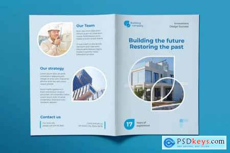 Building Company Brochure Bifold