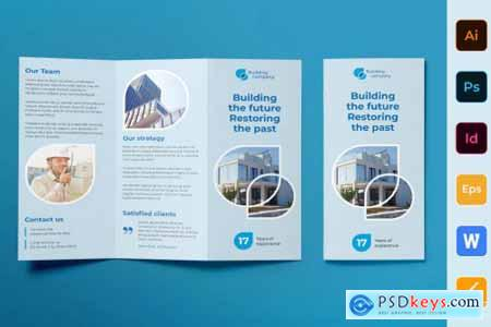 Building Company Brochure Trifold