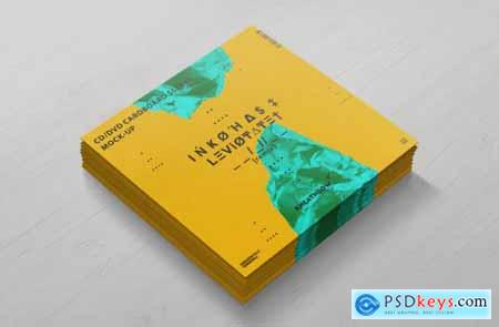 CD - DVD Сardstock Paper Sleeve Mock-Ups Vol1