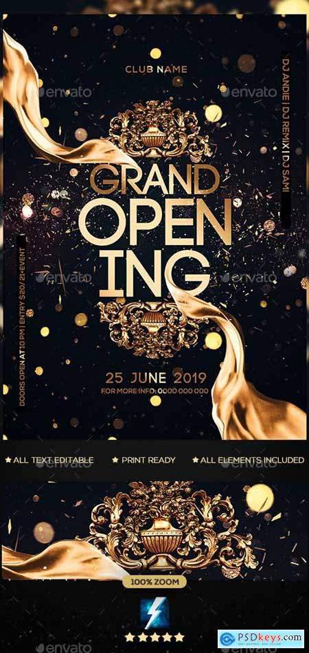 Grand Opening Party Flyer 23114018