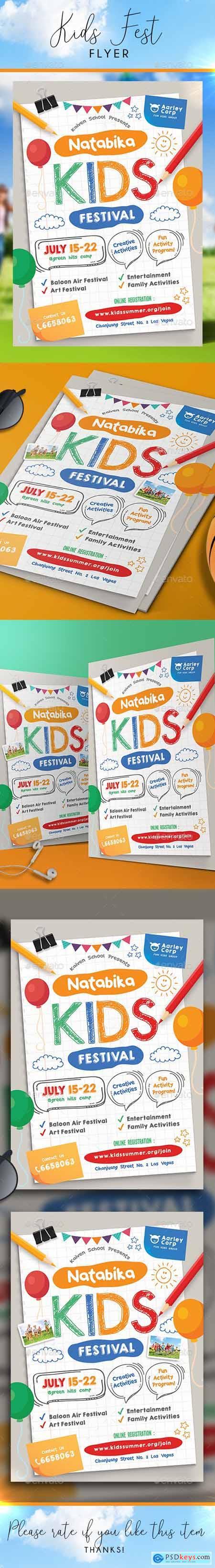 Kids Festival Flyer 22862696