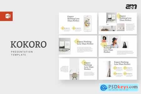 Kokoro Powerpoint, Keynote and Google Slides Templates