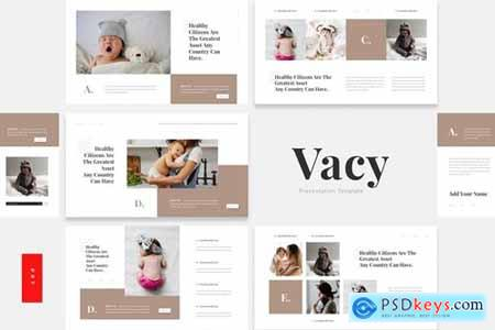 Vacy - Children Vaccine Healthcare Powerpoint, Keynote and Google Slides Templates