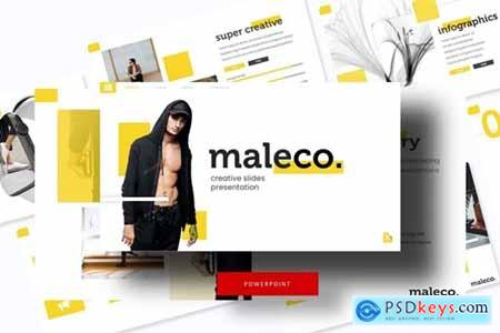 Maleco Powerpoint, Keynote and Google Slides Templates