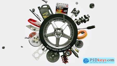 Videohive Auto Parts 25253400