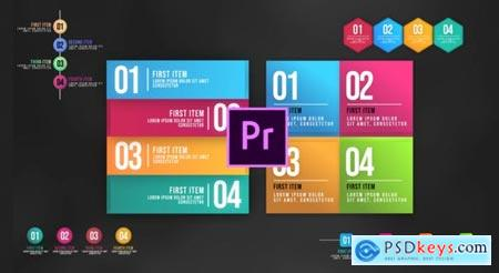 Videohive Infographic Animated Lists MOGRT 25248275