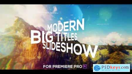 Videohive Big Titles Slideshow for Premiere Pro 25247867