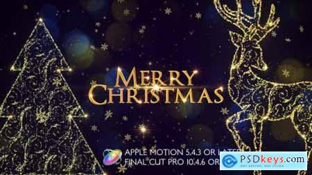Videohive Christmas Slideshow Promo Apple Motion 25233634