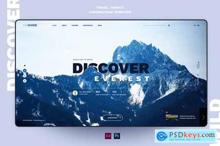 ChiGuide - Travel landing page template