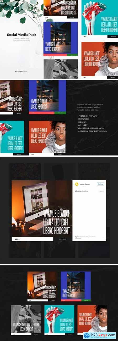 Social Media Banners - Vol91
