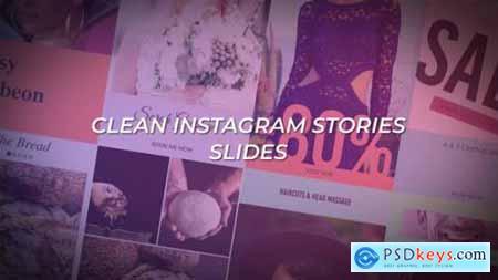 Videohive Clean Instagram Stories Slides 25259720