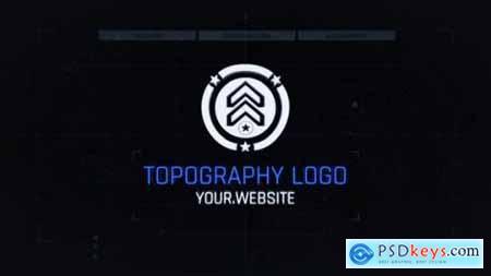 Videohive Topo Logo Reveal 25258177