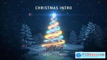 Videohive Christmas Tree Intro 25256893