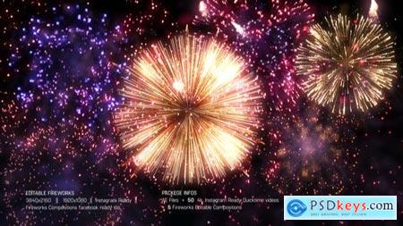 Videohive Editable Fireworks Template 25116839