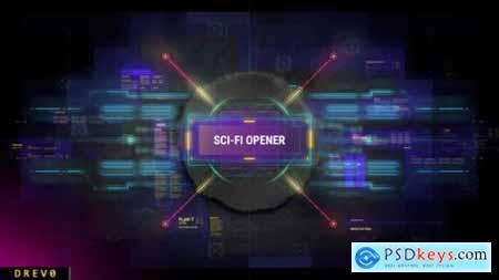 Videohive Scifi Intro 25265750