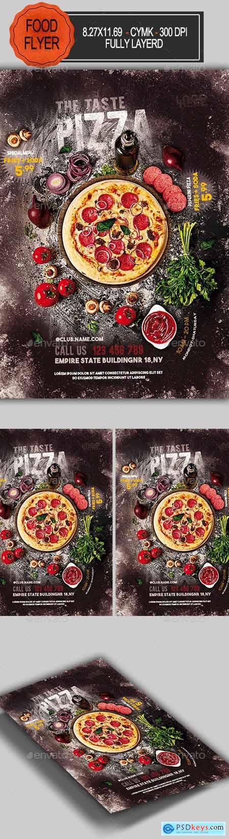 Pizza Flyer 23240958