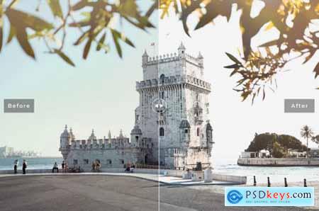 Lisbon Lightroom Presets