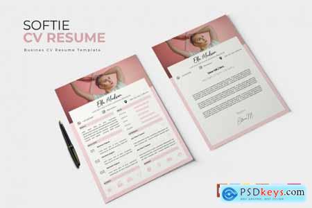 Softie - CV & Resume Template