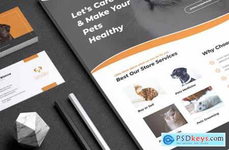 LOSI Pet Shop Business Flyer & Business Card