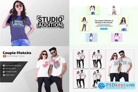 Tshirt Mockup Big Bundle 4362578