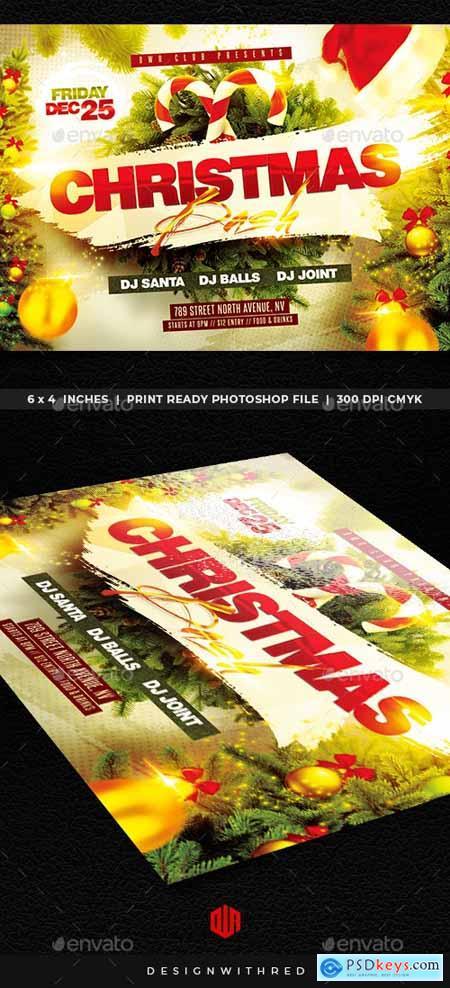 Christmas Flyer 25091579