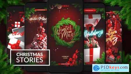 Videohive Christmas Instagram Stories 25269928
