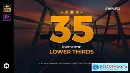 Videohive Awesome Lower Thirds for Premiere 21869160