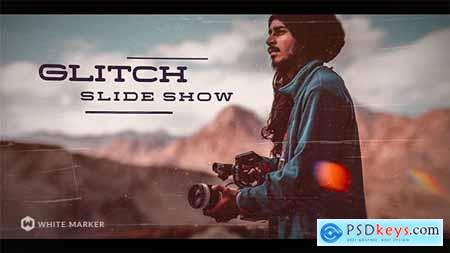Videohive Glitch Slideshow 21485052
