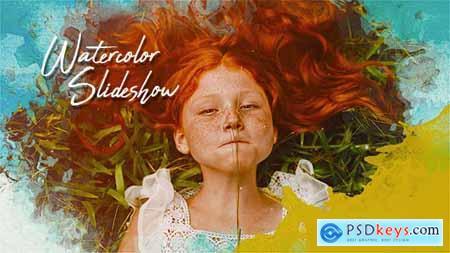 Videohive Watercolor Slideshow 21374036