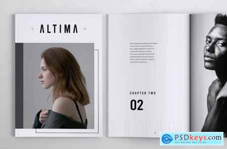 ALTIMA Fashion Lookbook Portfolio Brochures