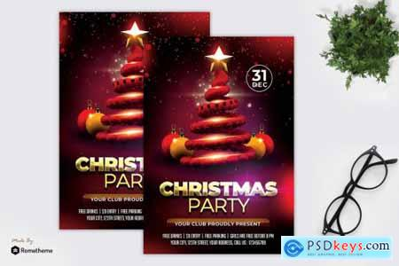 Christmas Party Flyer MR