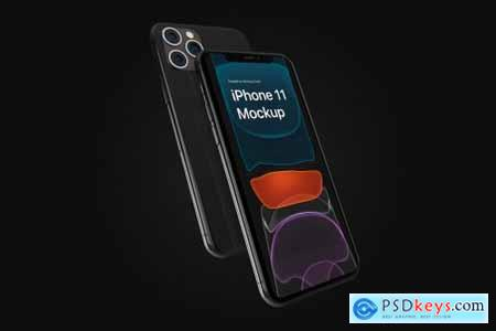iPhone 11 Pro Max Mockup Kit 4299410
