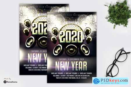 New Year Flyer MR