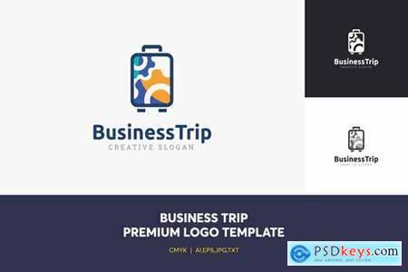 Business Trip Logo Template