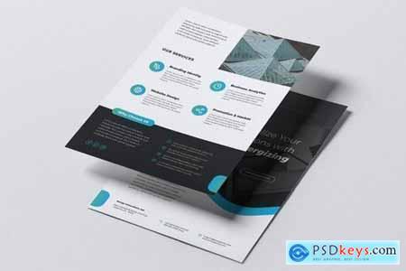 ENERGY Power Plant Flyer & Business Card