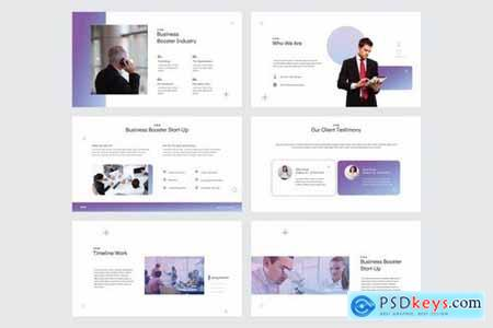 BUSINESS BOOSTER - Powerpoint Google Slides and Keynote Templates