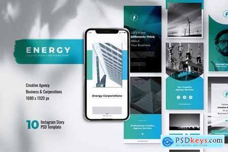 ENERGY Power Plant Instagram Stories