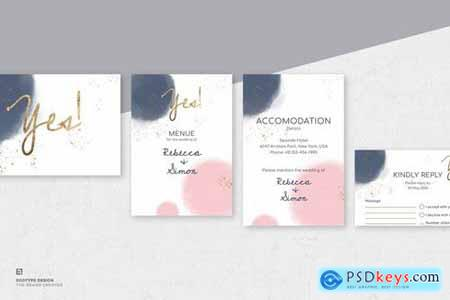Wedding Invitation Set149
