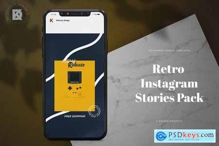 Retro Instagram Stories