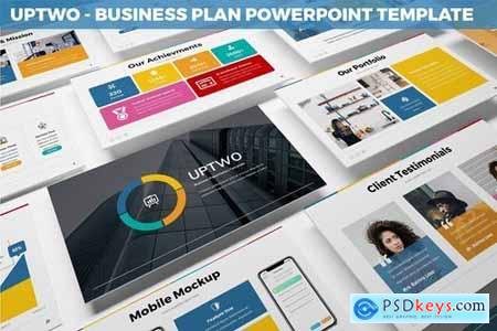 UpTwo - Business Plan Powerpoint Template