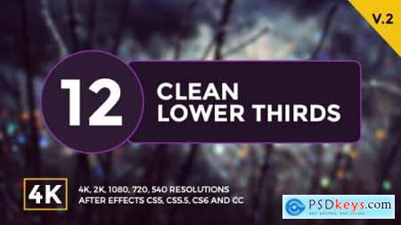 Videohive Lower Thirds V2 14382874