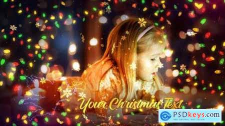 Videohive Christmas Lights Promo 25277709