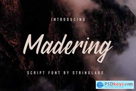 Madering - Classy Script Font 4390347