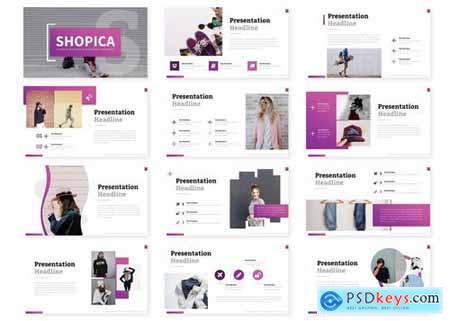Shopica - Powerpoint Google Slides and Keynote Templates