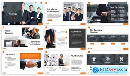 Riportize - Business Report Powerpoint Template