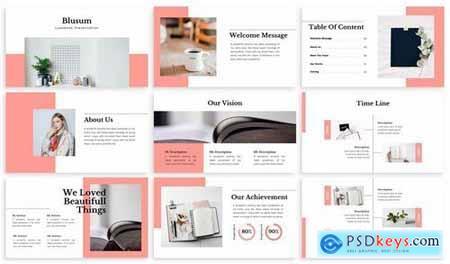 Blusum - Lookbook Powerpoint Template