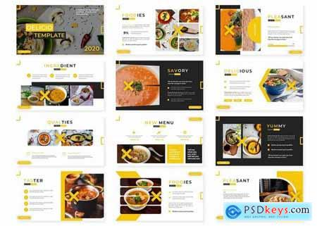 Delicio - Powerpoint Google Slides and Keynote Templates