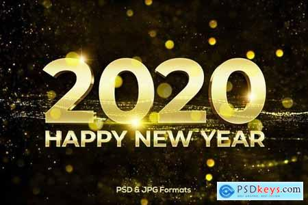 Happy New Year 2020 V1-V2