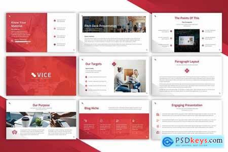 Vice - Powerpoint Google Slides and Keynote Templates