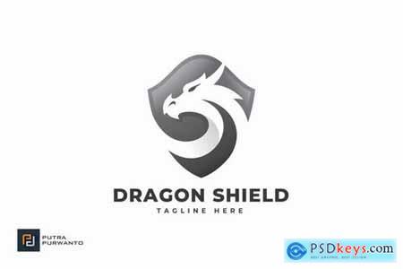 Dragon Shield - Logo Template